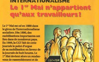 Internationalisme: le 1er Mai n'appartient qu'aux travailleurs !