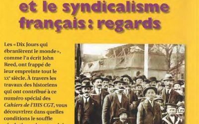La révolution russe et le syndicalisme français : regards