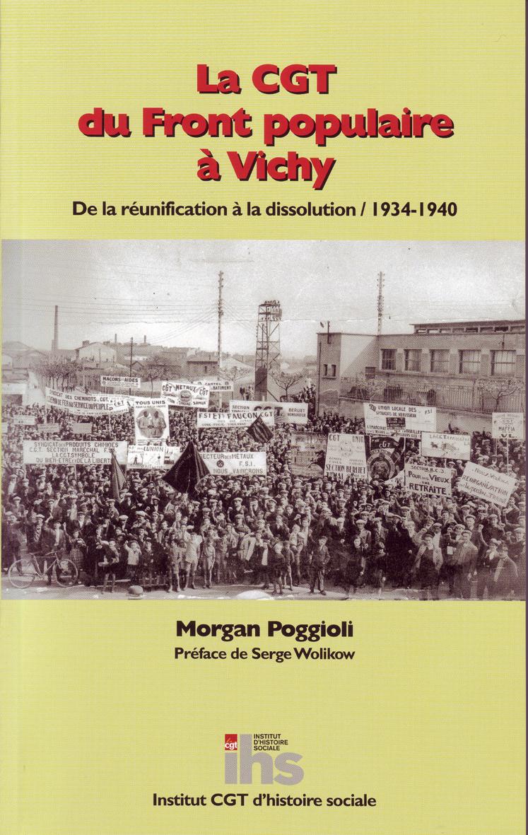 la CGT du Front populaire à Vichy