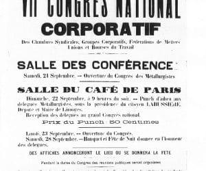Les Congrès et conférences syndicaux