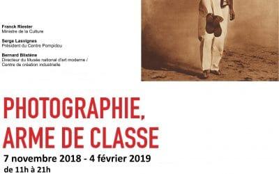 Exposition «Photographie, arme de classe»