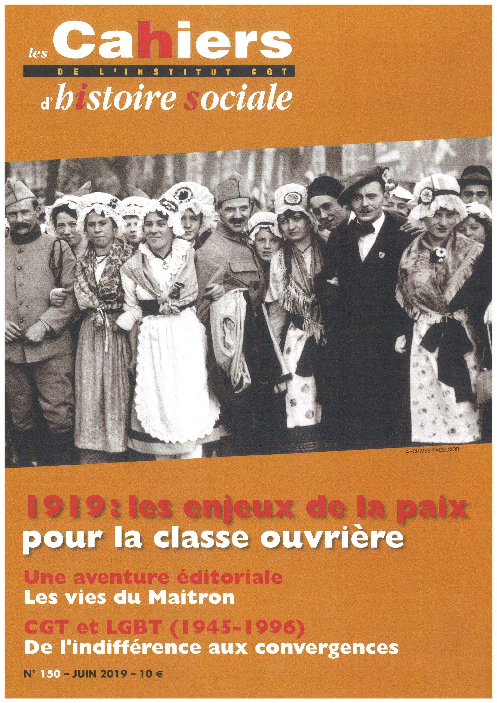 Cahier 150 – Juin 2019