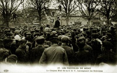 1908-1910, crise à la CGT