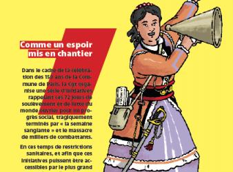 150e anniversaire de la Commune de 1871. Table-ronde.