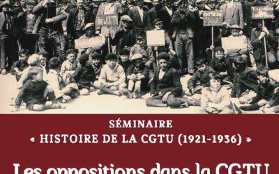 Les oppositions dans la CGTU (1921-1936)